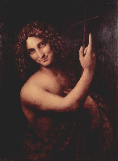 Ioan Botezatorul - Leonardo da Vinci