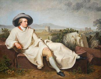 Goethe la Roma, de Johann Heinrich Wilhelm Tischbein